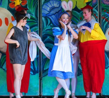 Ballet Wichita Performed 'Alice in Wonderland' on Saturday